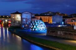 Buckminster Fuller, 50 Foot Fly's Eye Dome, 1980, crédit Nicolas Brasseur, Festival international d'art de Toulouse (4)