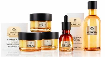 The Body Shop Oils Of Life - gamme