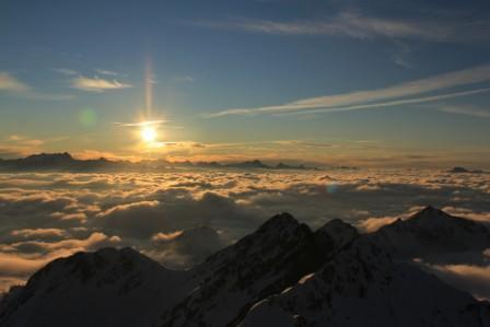 Pic du Midi-Lever de soleil-Copiryght N. BOURGEOIS